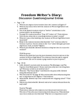 """""""The Freedom Writer's Diary"""" Unit"""