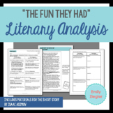 """""""The Fun They Had"""" by Isaac Asimov Literary Analysis Graph"""