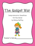 """""""The Gadget War"""" Comprehension Questions"""