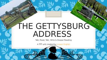 """The Gettysburg Address"" & Eulogy Unit (An ELA & US Histor"