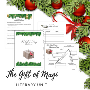 """The Gift of Magi"" Literary Unit"