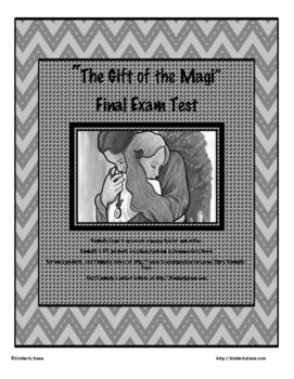 """""""The Gift of the Magi"""" Final Exam Test"""