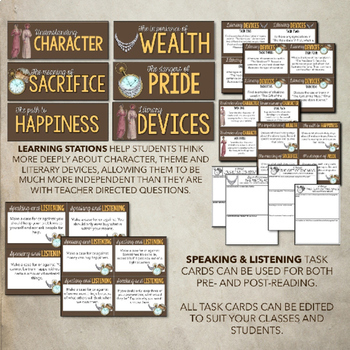 """""""The Gift of the Magi"""" and """"The Necklace"""" Lessons & Activities"""