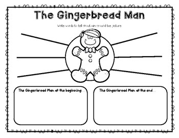 """The GingerBread Man"" a McGraw Hill Wonders Text Study"