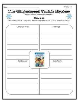 """The Gingerbread Cookie Mystery"" Activities for Reading, Writing, and Fun"