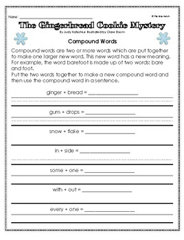 """""""The Gingerbread Cookie Mystery"""" Activities for Reading, Writing, and Fun"""
