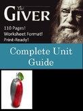 """The Giver"" Unit Bundle"