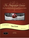 """""""The Giver"""" Unit Test and Answer Key"""