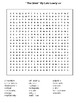 """""""The Giver"""" WS1 By Lois Lowry  word search"""