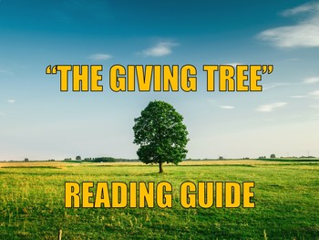 """""""The Giving Tree"""" Reading Guide"""