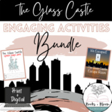 The Glass Castle Engaging Unit Activities Bundle - Distance Learning Ready!