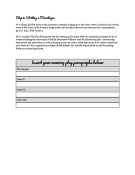 """The Glass Menagerie"" - Create your own memory play assignment"