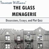 """The Glass Menagerie"" Plot Quiz (Multiple Formats)"