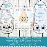 """The Good Egg"" Self Care / Positive Affirmation Surprise Craft"