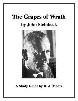"""""""The Grapes of Wrath"""" by John Steinbeck: A Study Guide"""