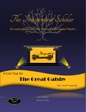 """""""The Great Gatsby"""" Unit Test and Answer Key"""