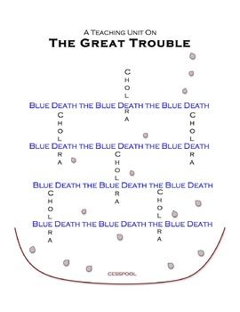 """""""The Great Trouble"""" Teaching Unit: Activities, Q & A, Vocabulary, Writing Ideas"""