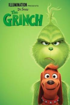 """The Grinch"" 2018 Movie Questions Elementary Middle School Music Education"