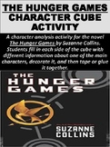 """""""The Hunger Games"""" Character Cube Activity"""