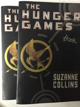 """The Hunger Games books, by Suzanne Collins - Literature Circle Set"