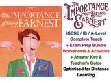 """The Importance of Being Earnest"" (Oscar Wilde) - Advanced Teaching Bundle"