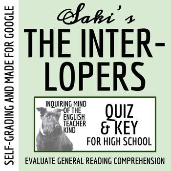 The Interlopers By Saki Quiz Key