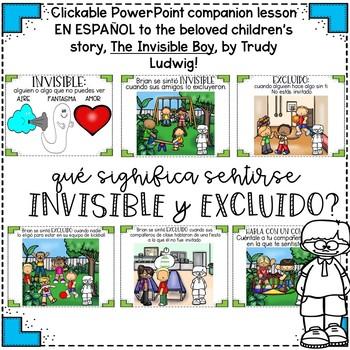 """""""The Invisible Boy"""" por Tracy Ludwig - """"El Nino Invisible"""" - Leccion en ESPANOL!"""
