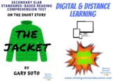 """""""The Jacket"""" by G. Soto *ONLINE* (BOOM CARDS) Reading Comp"""