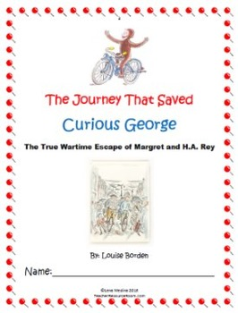 "Holocaust Unit: ""The Journey That Saved Curious George"" Mega Unit!"