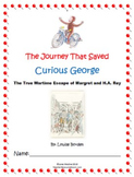 "Holocaust Unit: ""The Journey That Saved Curious George"" Mega Unit!"