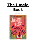 """The Jungle Book"" Novel Study/Literature Circle Questions and Vocabulary"