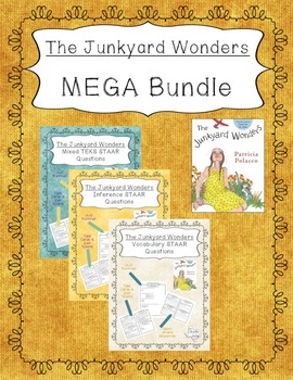 """The Junkyard Wonders"" MEGA Bundle - STAAR Questions and Task Cards"