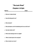 """The Juvie Three"" Chapter quizzes"