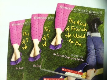"""""""The Kind Of Friends We Used To Be"""" books (Frances O'Roark"""
