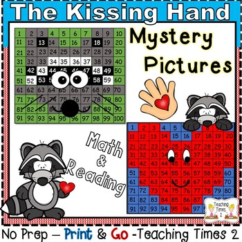 The Kissing Hand Hundreds Charts Hidden Pictures