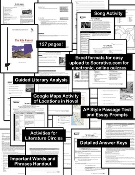 the kite runner editable complete unit activities tests analysis   the kite runner editable complete unit activities tests analysis ap style keys