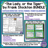 """The Lady, or the Tiger"" Bundle- Close Reading Unit and Task Cards"