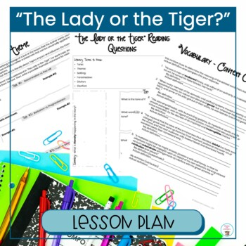 """""""The Lady or the Tiger?"""" Close Reading"""