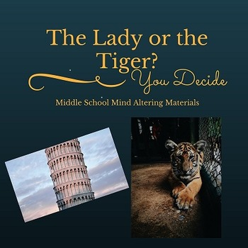 """""""The Lady or the Tiger"""" Complete Lesson Plans"""