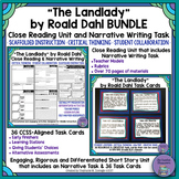 """The Landlady"" Bundle-Close Reading & Narrative Writing Unit with Task Cards"