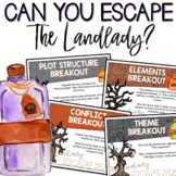 The Landlady by Roald Dahl Escape Room and Literary Elements Review