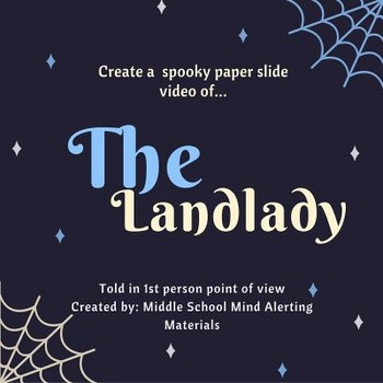 """The Landylady"" Roald Dahl Paper Slide Video Project"