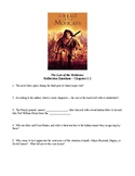 """""""The Last of the Mohicans"""" - Supplemental Study Packet"""