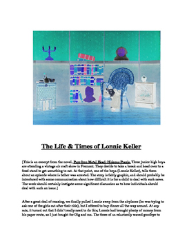 """""""The Life & Times of Lonnie Keller"""" A Short Story"""