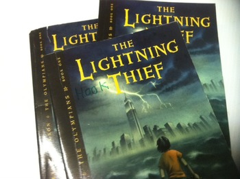 """The Lightning Thief"" books, by Rick Riordan - Literature"