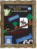 """""""The Listeners"""" Poem Analysis Task Cards, Analysis Sheets  Common Core"""