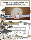 """""""There Was An Old Lady Who Swallowed A Bat"""" Storytelling Slider Craft"""