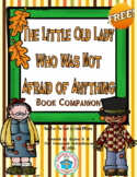 """""""The Little Old Lady Who Was Not Afraid of Anything"""" Book"""