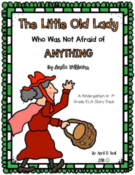 """The Little Old Lady Who Was Not Afraid of Anything"" Story Pack"