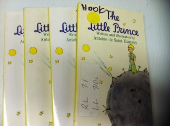 """""""The Little Prince"""" books, by St Exupery - Literature Circle Set"""